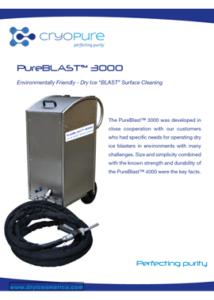 PureBlast 3000 - Dry Ice America